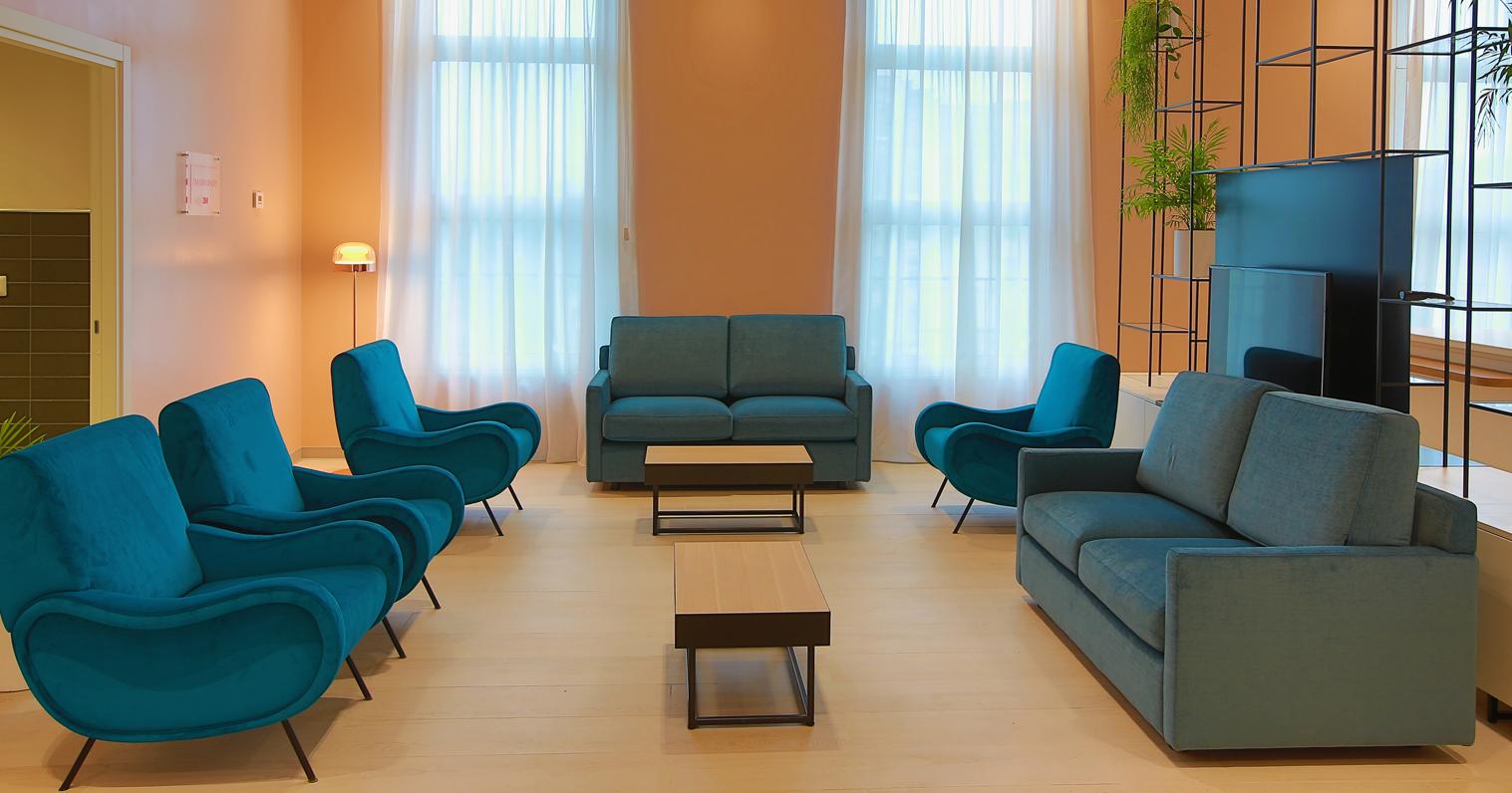 Zona Living per la Ronald McDonald Family Room di Milano