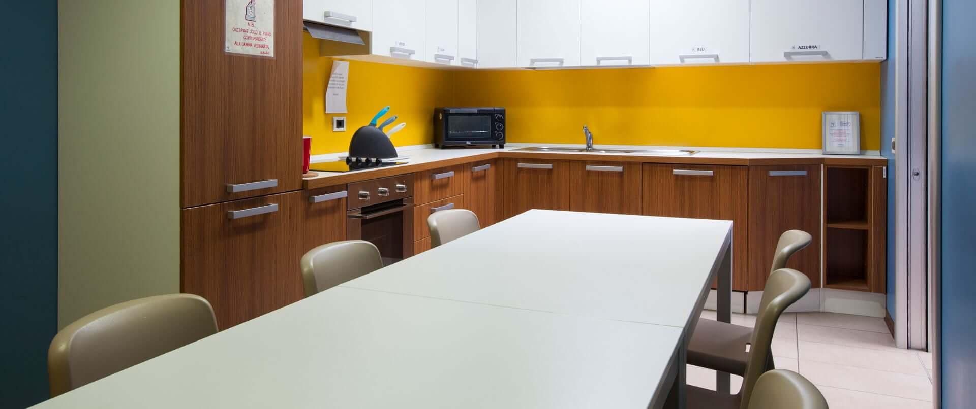 La cucina di family room Alessandria