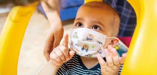 Doni disinfettante per le mani, guanti e mascherine per affrontare l'emergenza Corona Virus anche nelle Case Ronald.