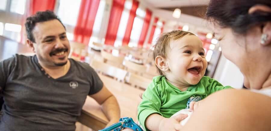 Doni a una famiglia quello di cui ha bisogno per affrontare                                                             l'ospedalizzazione improvvisa del proprio bambino