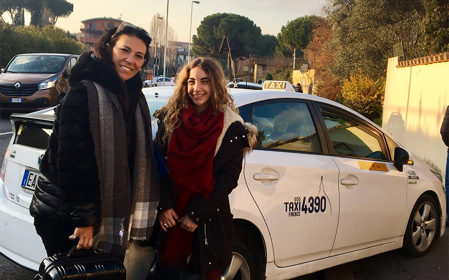 Un Taxi gratuito sulla via della cura