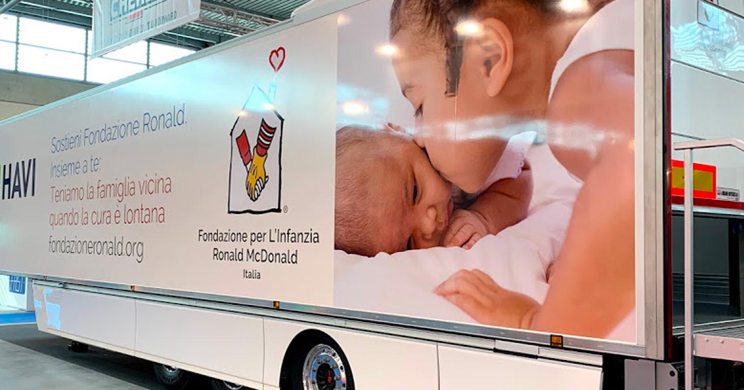 Camion brandizzato