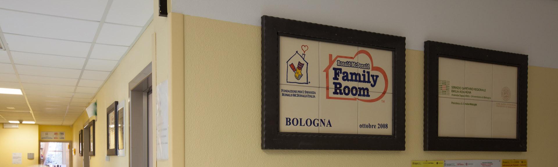 Quella di Bologna è una delle due Family Room di Fondazione Ronald presenti in Italia. Scopri di cosa si tratta.