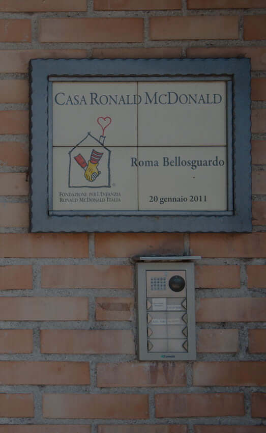 Case Ronald Roma Bellosguardo