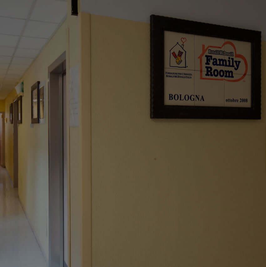 Ronald McDonald Family Room® Bologna