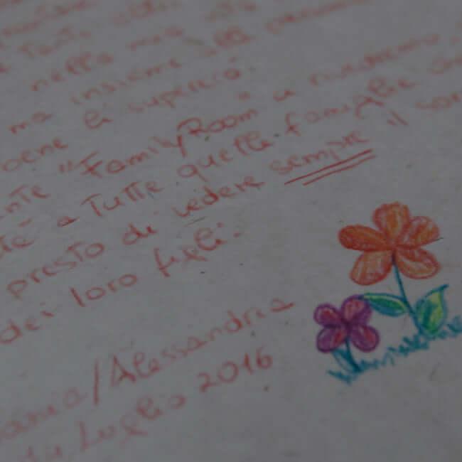 Lettera Ronald McDonald Family Room® Alessandria