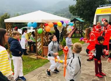 Festa con bambini